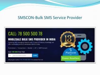 Bulk SMS Services Provider in India | Chennai