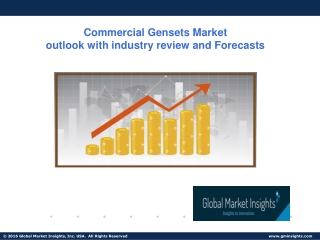 2019 Commercial Gensets Market- Latest trends, Growth and Forecast up to 2025