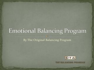 Emotional balancing program - Glen Schilling
