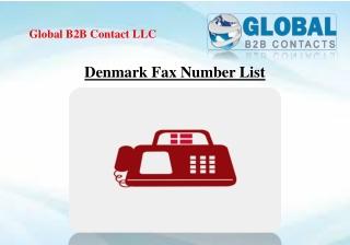 Denmark Fax Number List