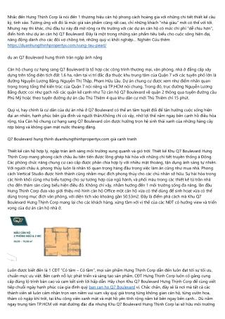 15 điều về Q7 Boulevard quan 7 duanhungthinhpropertyx.com nên tham khảo blog trước khi mua