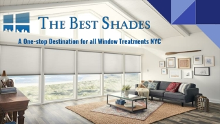 Window Treatments Nyc