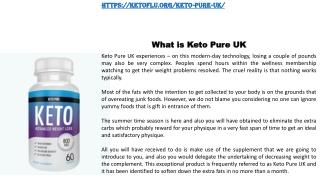 Keto Pure UK