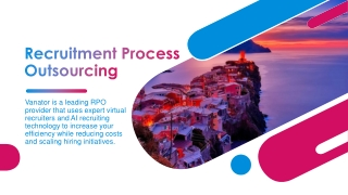 Recruitment Process Outsourcing | Vanator Best RPO Company in India