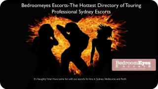 The Hottest Directory of Touring Professional Sydney Girls