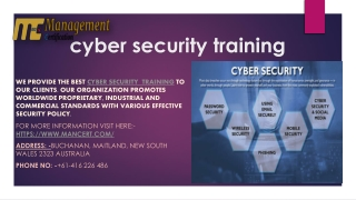 Why Need Of Cyber Security Training?