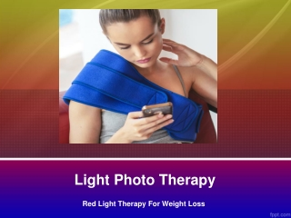 Light therapy for depression