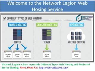 Get Trusted Web Hosting and Dedicated Server Hosting | Network Legion