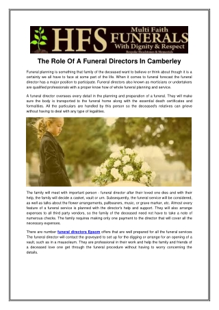 Funeral Services London