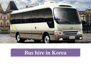 Bus Hire In Korea