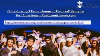 Prepare VMware 2V0-21.19D Question Answers - 2V0-21.19D Practice Test Dumps - RealExamDumps.com
