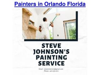 Painters in Orlando Florida