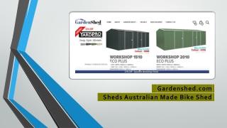 Spanbilt Saver Garden Sheds Online