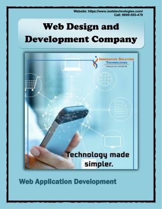 website development services - Web Design and Development Company