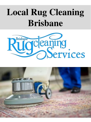 Local Rug Cleaning Brisbane