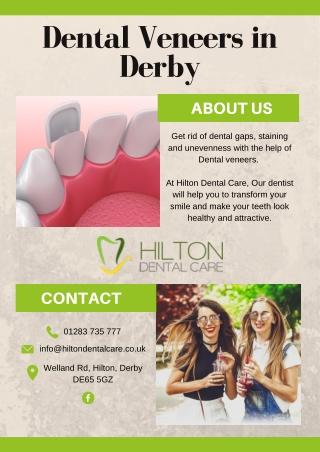 Dental Veneers in Derby