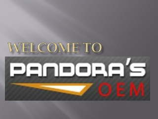 Pandoras OEM - The Ultimate Store for Home Appliances