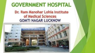 RAM MANOHAR LOHIYA HOSPITAL