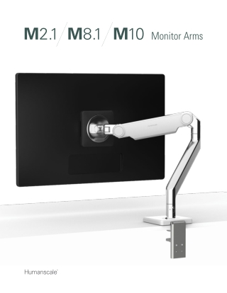 Monitor Arms - Ergonomic and Adjustable   Humanscale