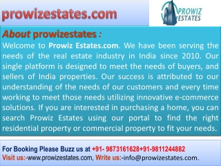 DLF Regal Gardens Sector 90 Gurgaon @@ prowizestates.com