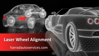 Laser Wheel Alignment Brampton