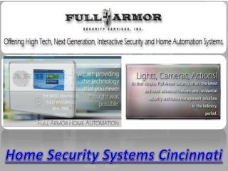 Home Security Systems Cincinnati