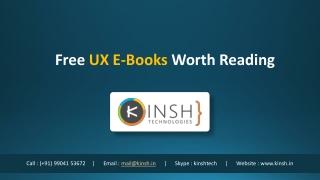 Free UX E-Books WorthReading
