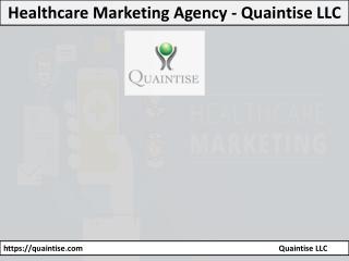 Healthcare Marketing Agency - Quaintise LLC