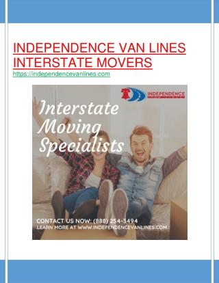Independence Van Lines