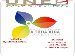 Exposición Gran Misión Vida Venezuela