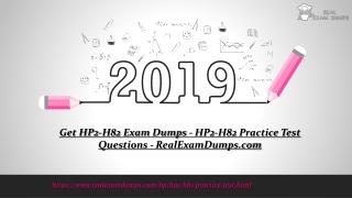 2019 Valid HP HP2-H82 Exam Study Guide - HP2-H82 Exam PDF - RealExamDumps.com