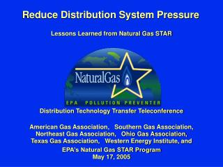 Reduce Distribution System Pressure