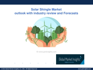 Solar Shingle Market Size, Application Potential, By Product, 2019-2025