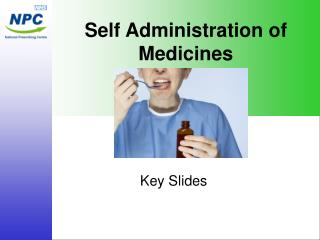 Self Administration of Medicines