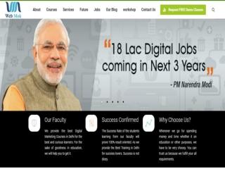 Digital Marketing Services & Training in Rohtak & Delhi | Webmok Pvt Ltd