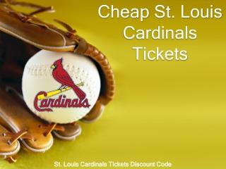 2020 Cheap Cardinals Match Tickets