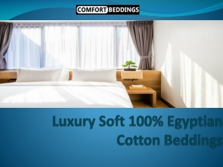 100% Soft Cotton Bedding Products