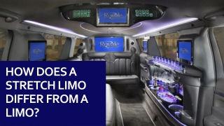 How Does A Stretch Limo Differ From A Limo ?