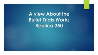 Bullet Trails