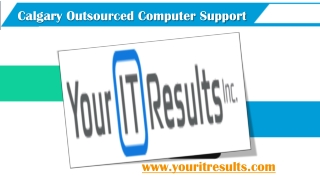 Calgary Outsourced Computer Support