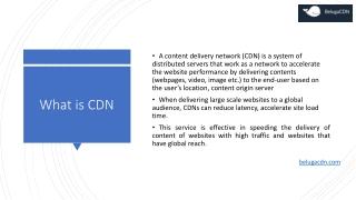 BestCDN | Beluga CDN service