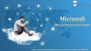 Microsoft _MB-200_Dumps_Question_Answers_Latest_Microsoft _MB-200 Dumps PDF