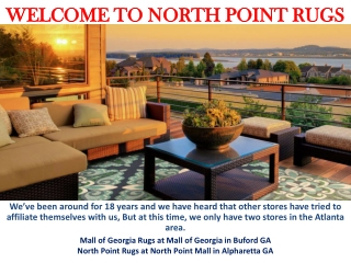 About us | North Point Rugs | Rugs for Sale