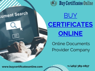 Buy Registered Documents & Certificates Online At Affordable Price