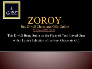 Buy Diwali Chocolates Online and Spread the Eternal Festive Joys