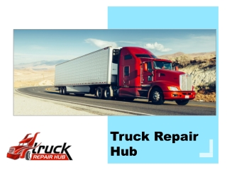 The importance of the truck repairs service