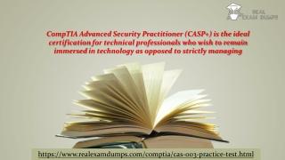 Download CompTIA CAS-003 Practice Test Dumps - CAS-003 Practice Test Questions - Realexamdumps.com