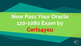 1z0-1080 Practice Test Questions