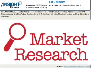 ETEF Market 2019 - Size, Top Manufacturers, Current Impact, and Industry Growth by 2027