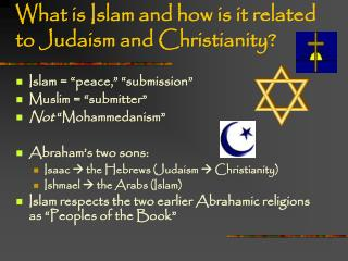 What is Islam and how is it related to Judaism and Christianity?